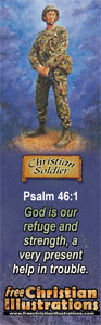 Free Christian Bookmark