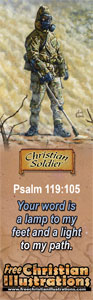 Australin Soldier Bookmark