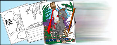 Free Christian Coloring In Picture