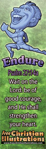 Endure Bookmark