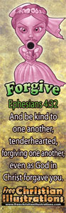 Forgive Bookmark