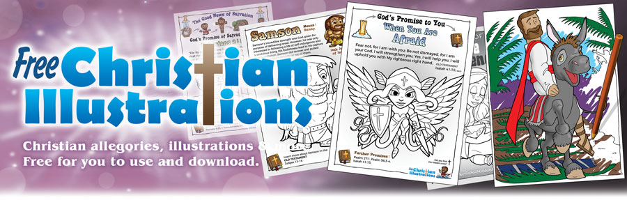 Free Printable Christian Colour In Pictures And Colouring Pages