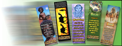 Free Christian Bookmarks