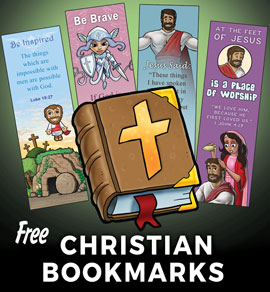 Free Christian Bookmarks and Posters