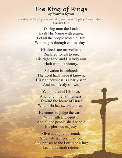 Free Christian Poems - Poems of the Lord